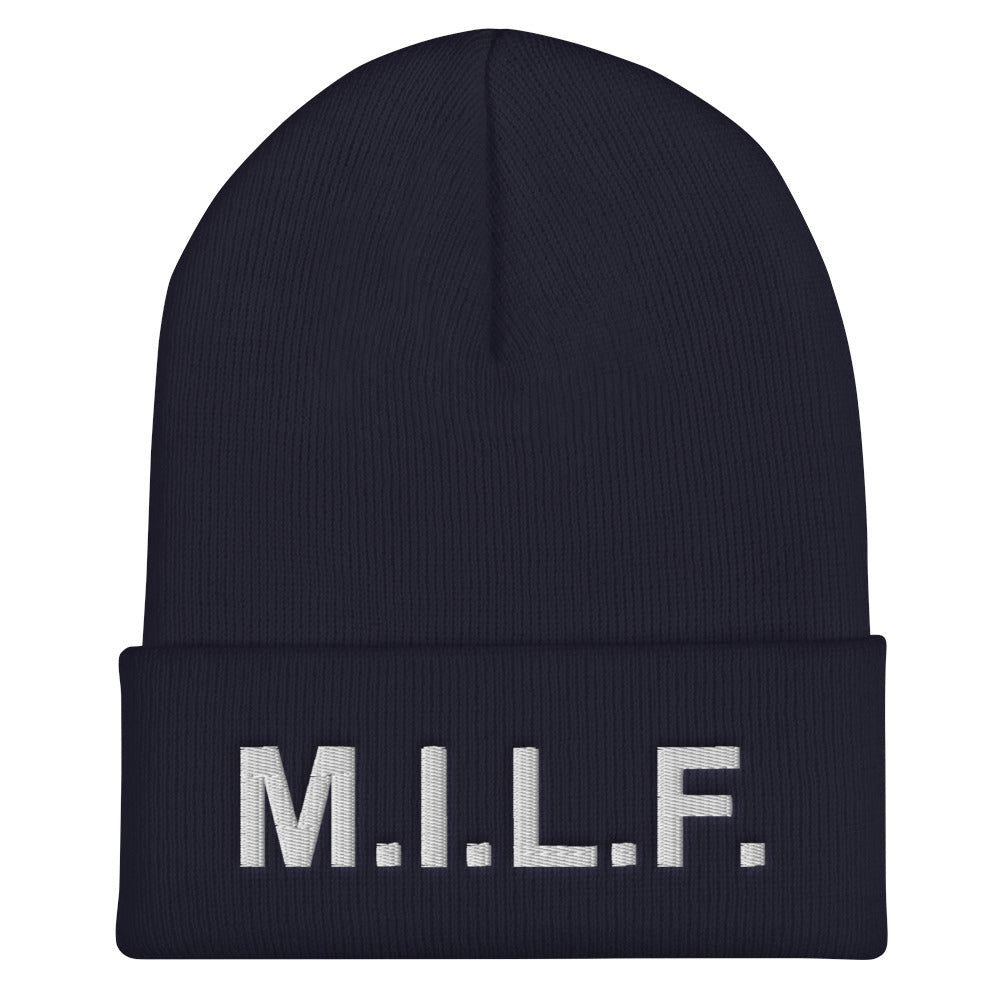 M.I.L.F. - Beanie - Unminced Words