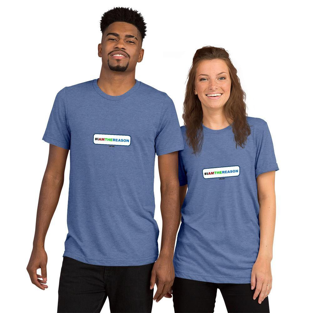 #IAMTHEREASON - Short sleeve t-shirt - Unminced Words