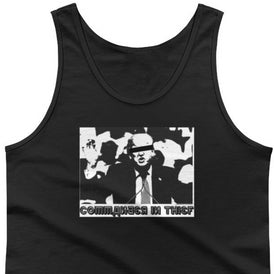 Commander In Thief - Cotton Tank Top - Unminced Words