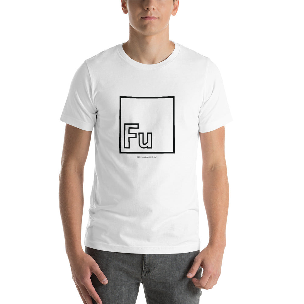 Fu - Short-Sleeve Men's T-Shirt - Unminced Words