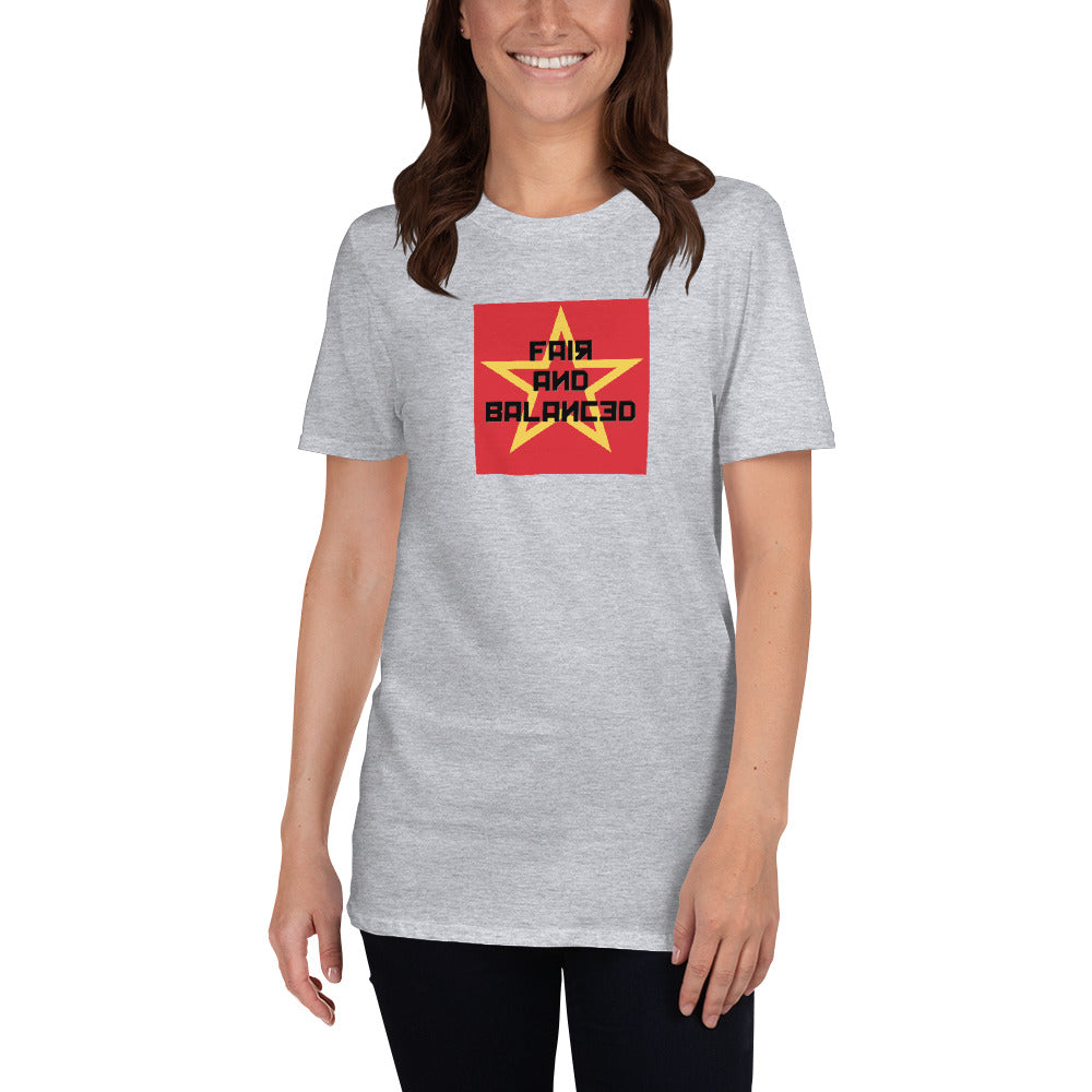 Fair And Balanced - Unisex Softstyle T-Shirt