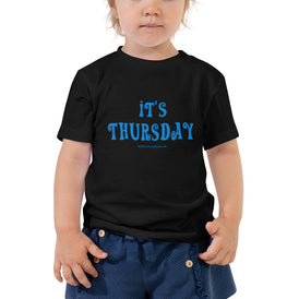 Thursday - Toddler Short Sleeve Tee - Unminced Words