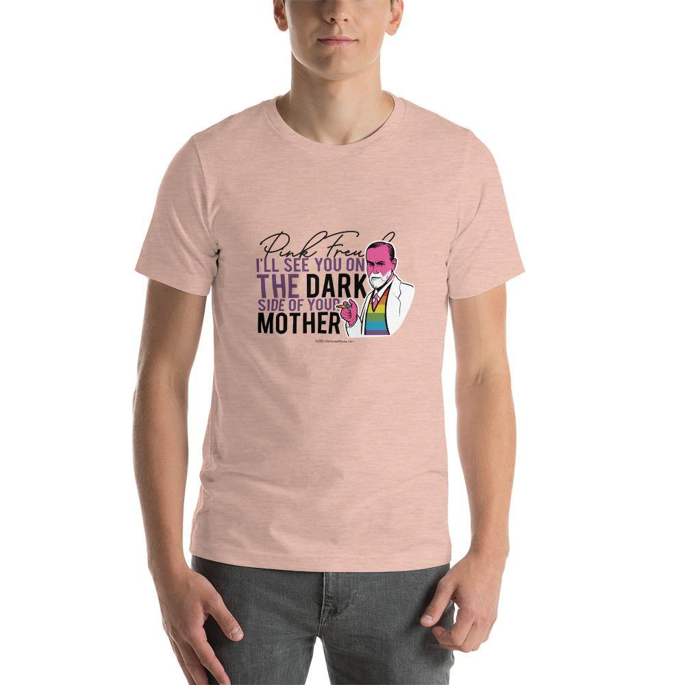 Pink Freud - Short-Sleeve T-Shirt - Unminced Words