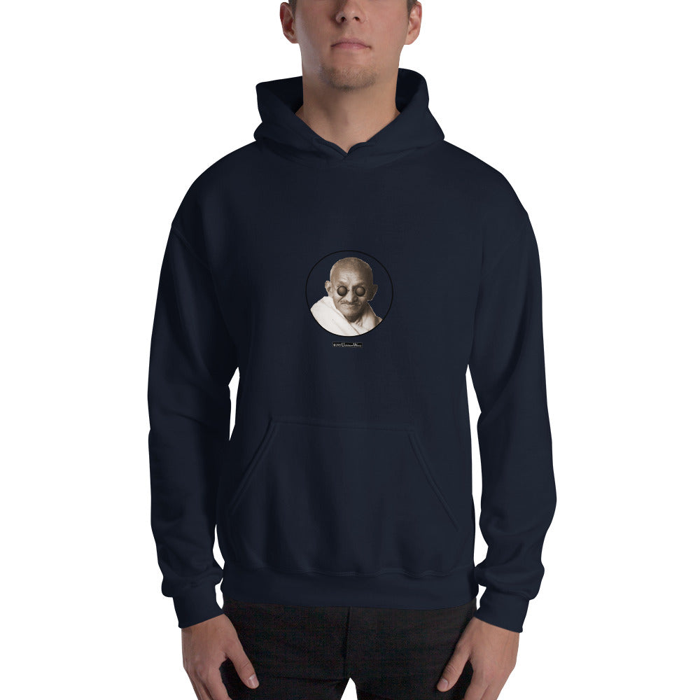 Gandhi - Hooded Sweatshirt - Unminced Words