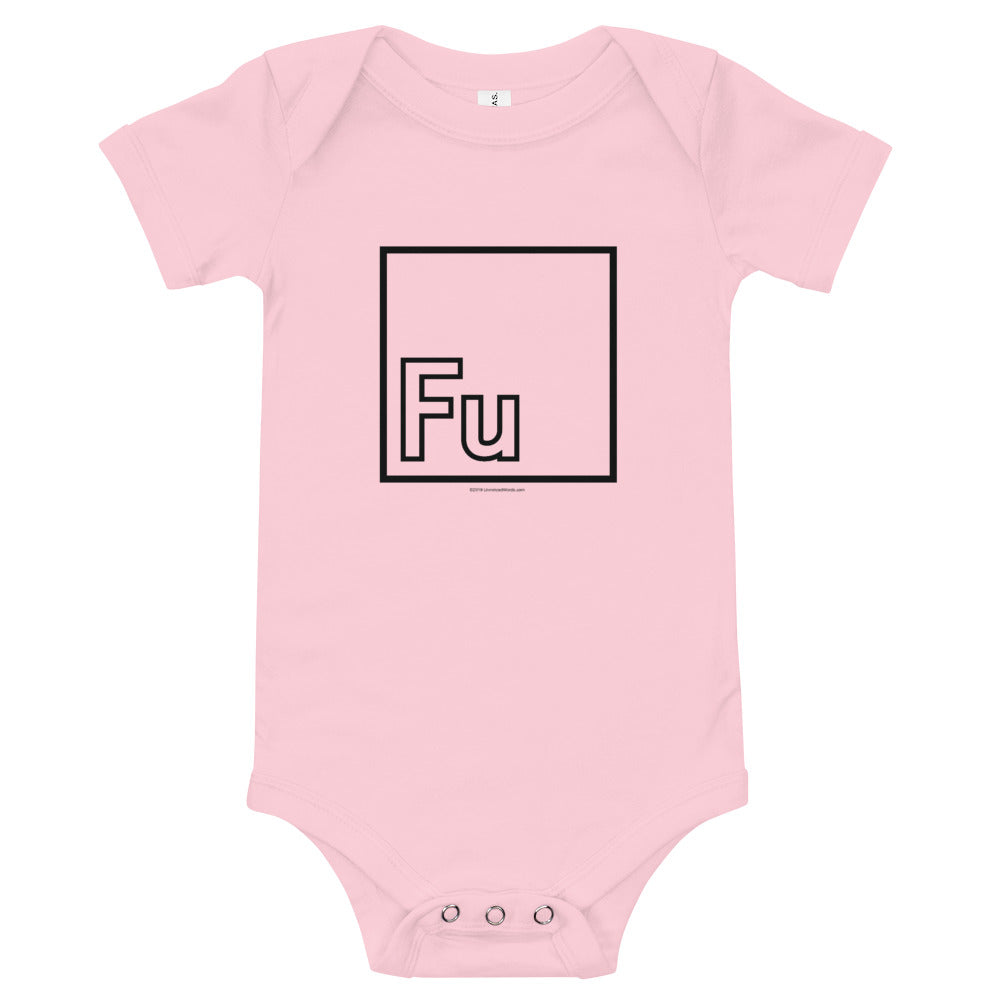 Fu - Onesie - Unminced Words