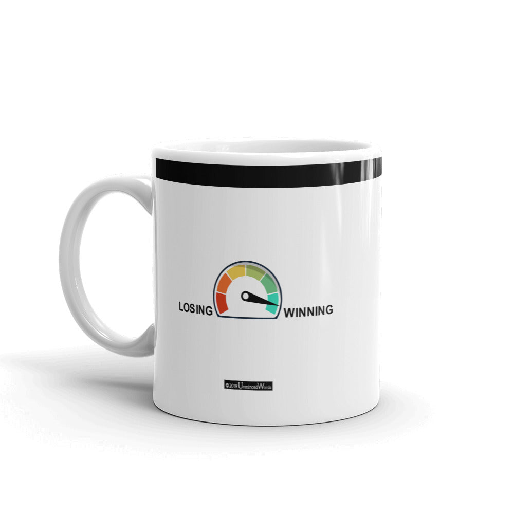 Winning Gauge - Mug - Unminced Words