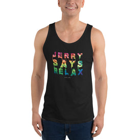 Jerry Says Relax - Men's Tank Top - Unminced Words