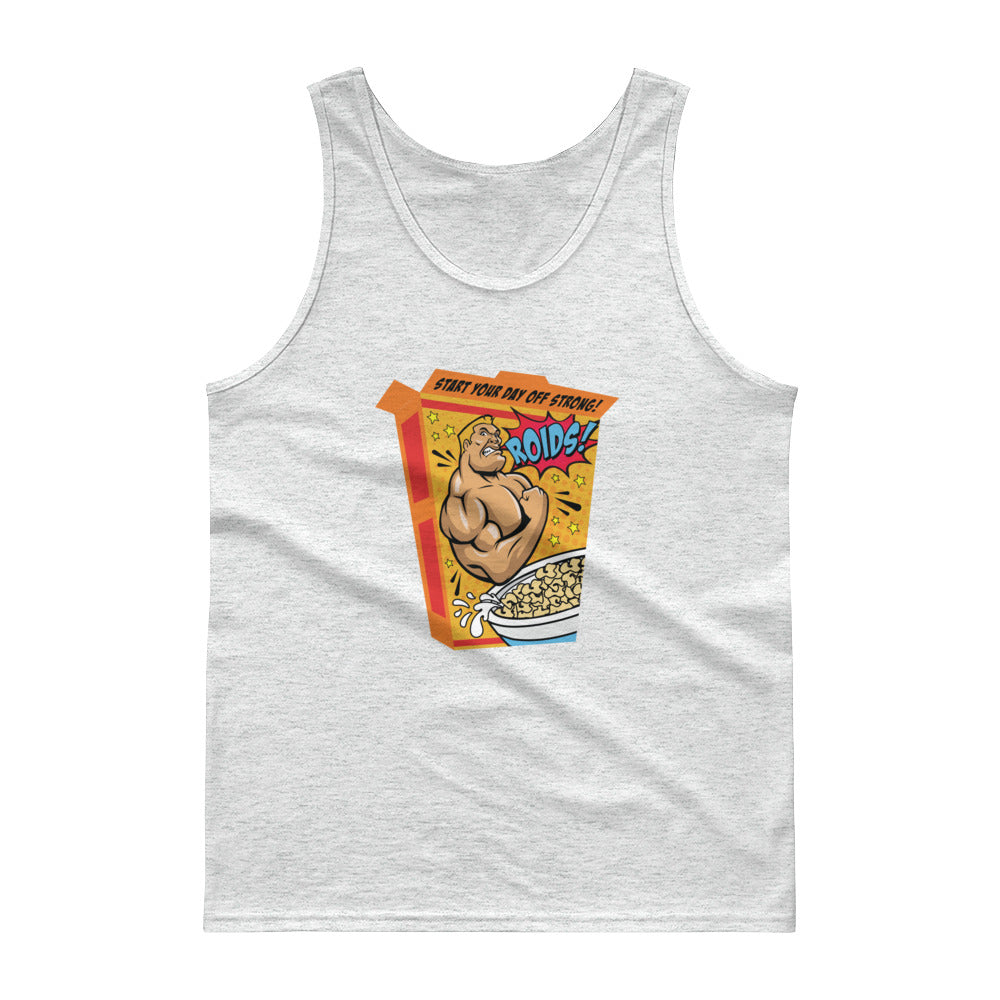 Roids - Cotton Tank Top - Unminced Words