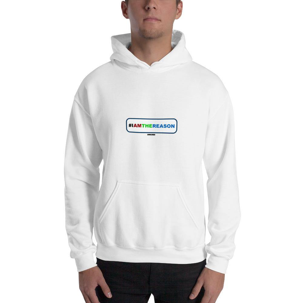 #IAMTHEREASON - Men's Hooded Sweatshirt - Unminced Words