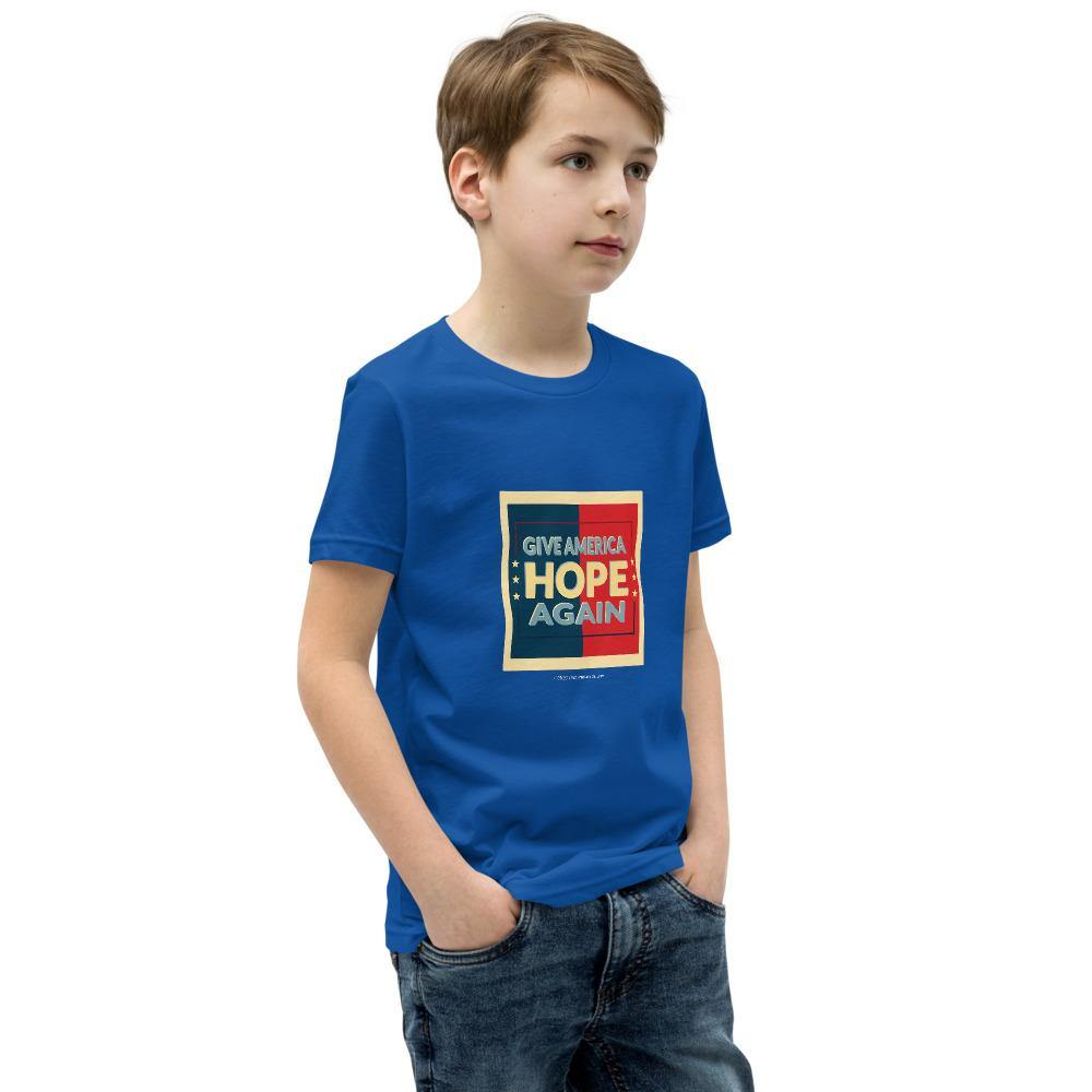 Give America Hope Again - Youth Short Sleeve T-Shirt
