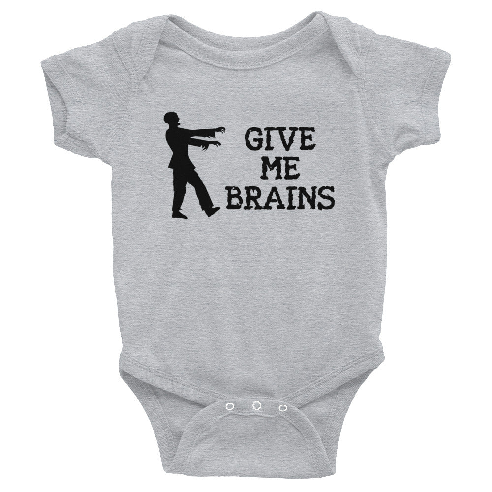 Give Me Brains - Onesie - Unminced Words