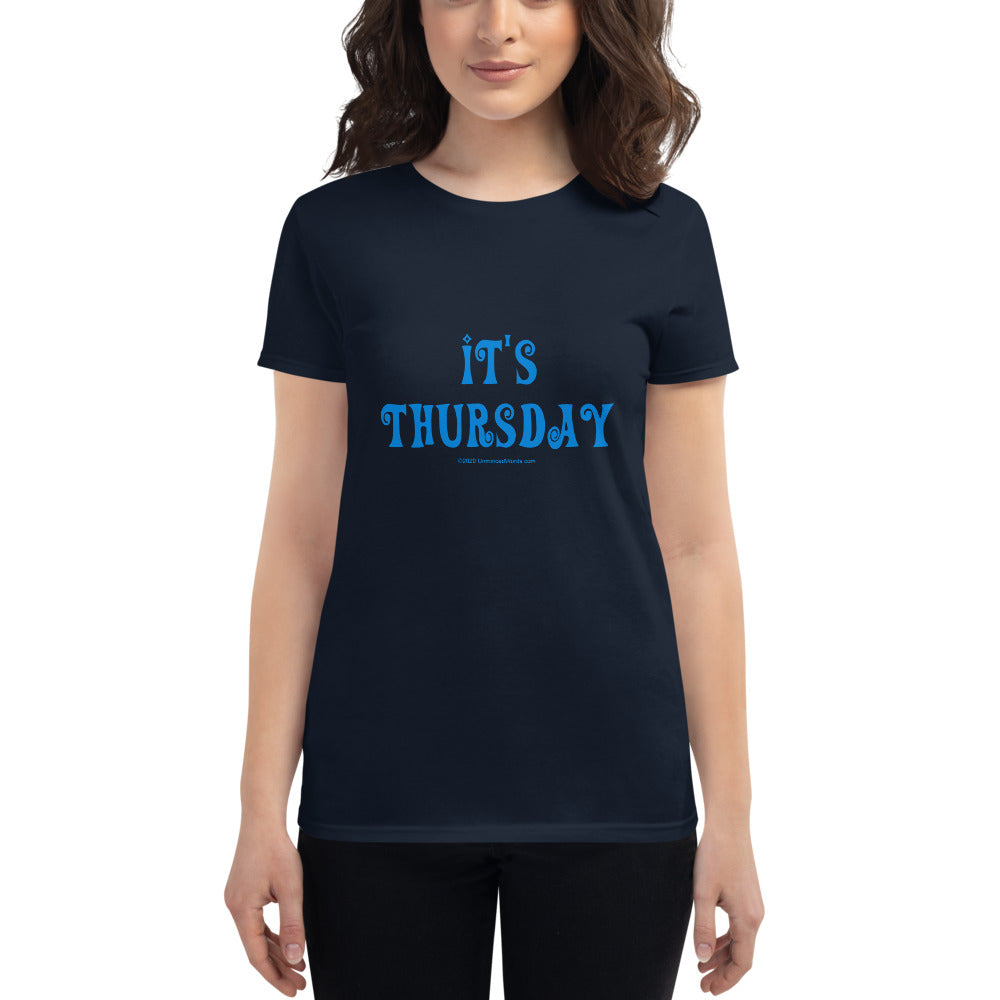 Thursday - Women's short sleeve t-shirt