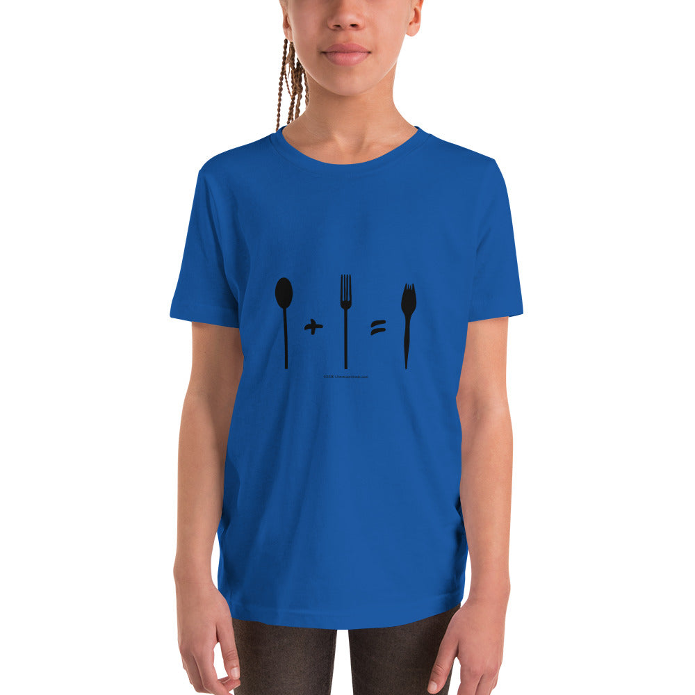 Spork - Youth Short Sleeve T-Shirt - Unminced Words