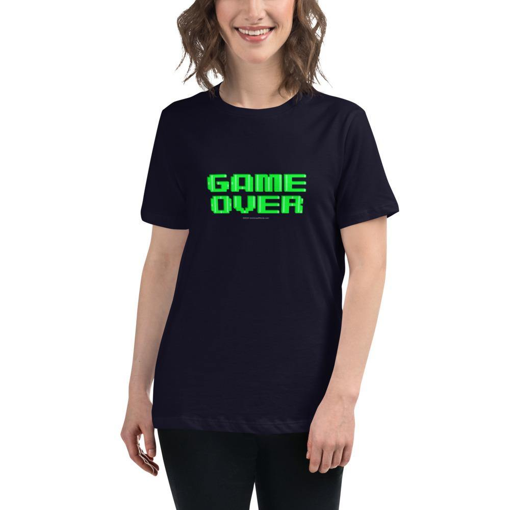 Game Over - Women's Relaxed T-Shirt