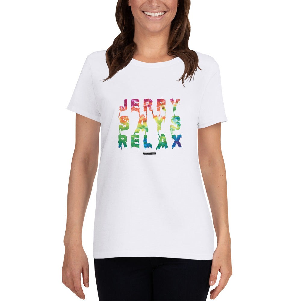 Jerry Says Relax - Women's short sleeve t-shirt