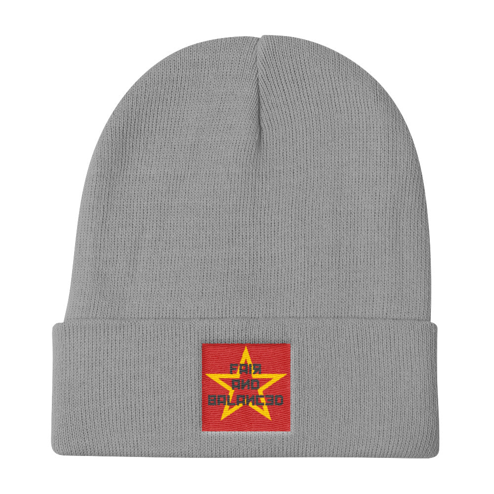 Fair And Balanced - Knit Beanie
