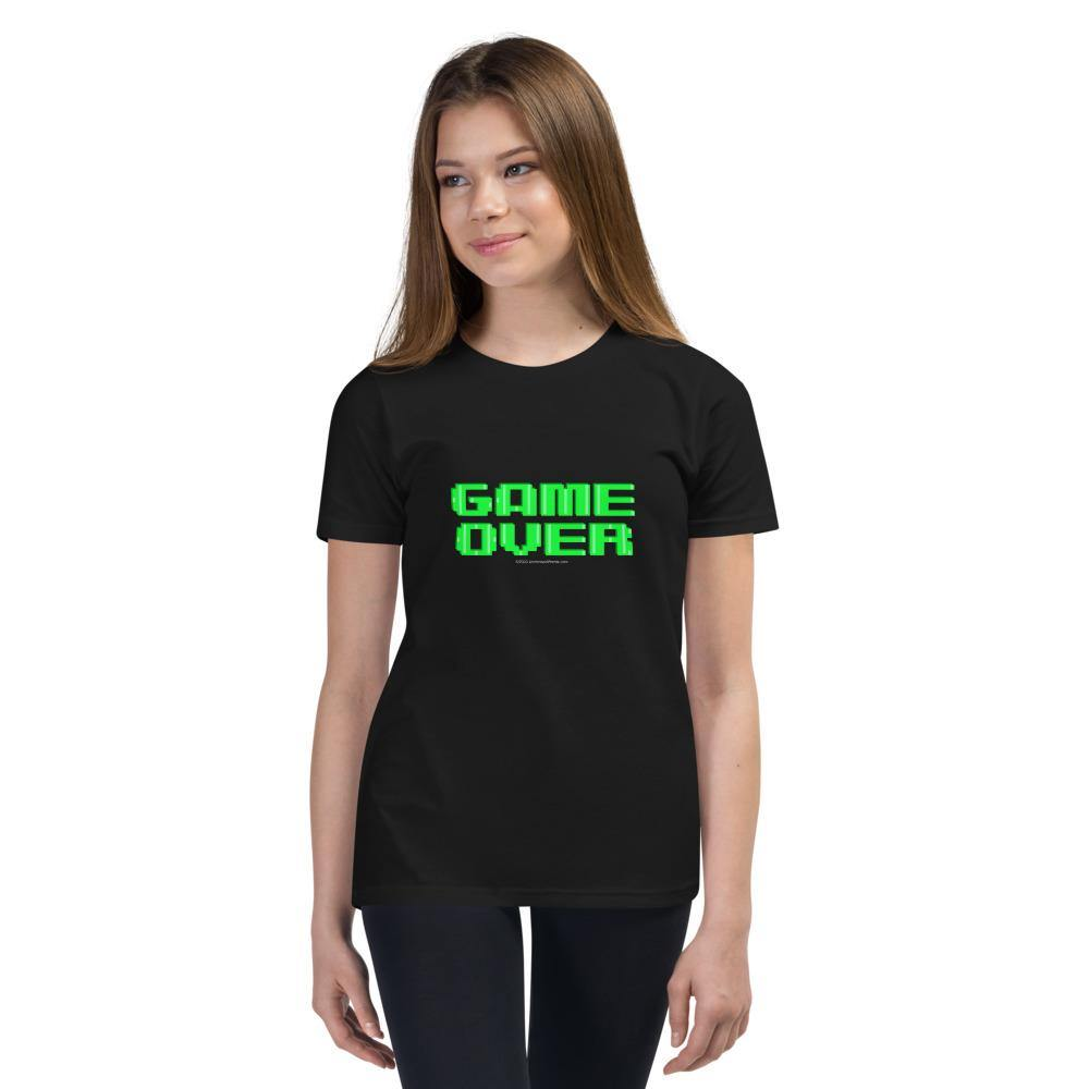 Game Over - Youth Short Sleeve T-Shirt