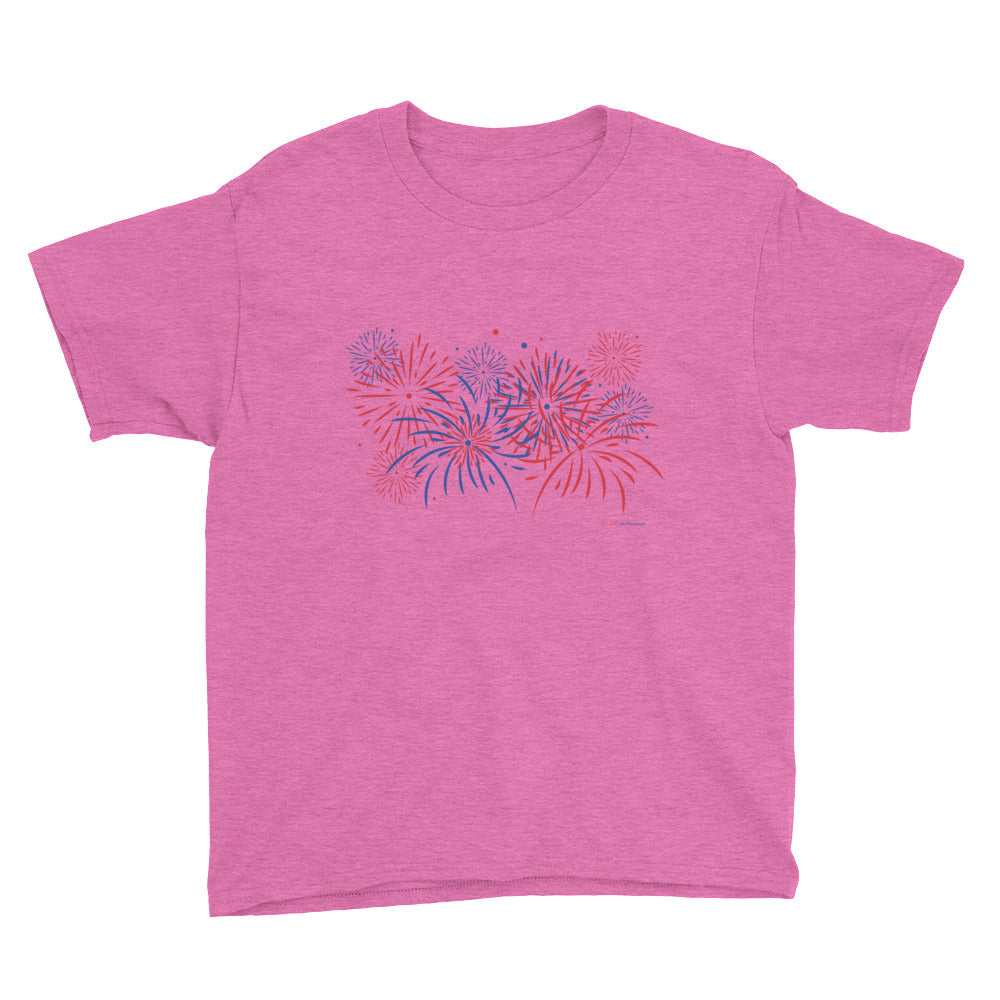 Fireworks - Youth Short Sleeve T-Shirt - Unminced Words