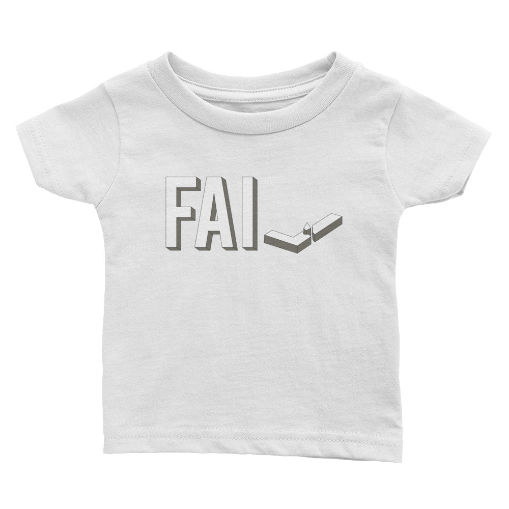 Fail - Infant Cotton Jersey Tee - Unminced Words