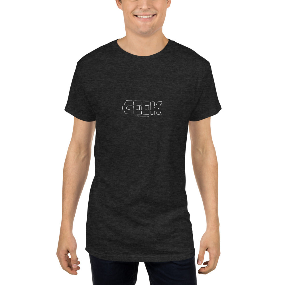 GEEK - Long Body Urban Tee - Unminced Words