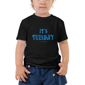 Tuesday - Toddler Short Sleeve Tee - Unminced Words