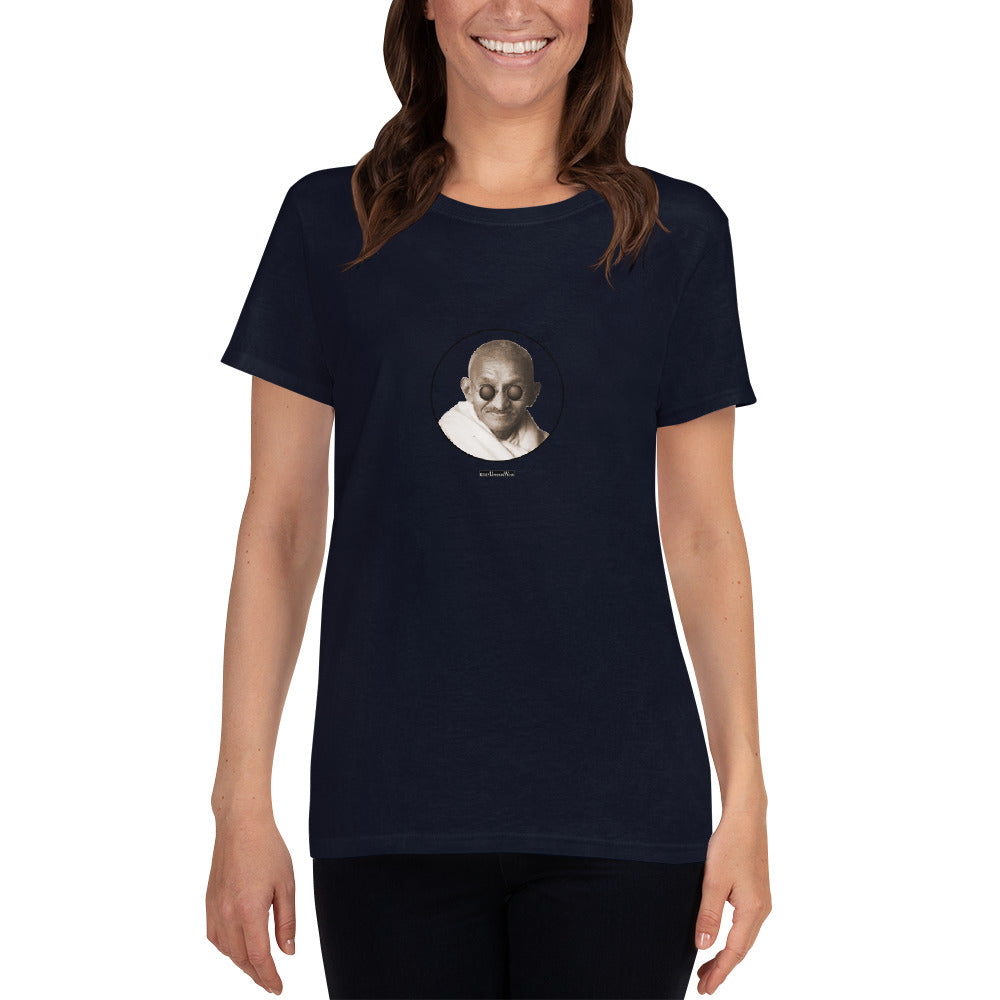 Gandhi - Women's short sleeve t-shirt - Unminced Words