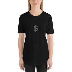 Dollar - Short-Sleeve Ladies' T-Shirt - Unminced Words