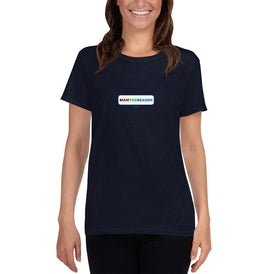 #IAMTHEREASON - Women's short sleeve t-shirt - Unminced Words