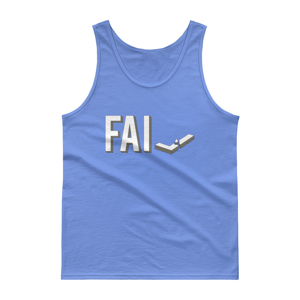 Fail - Cotton Tank Top - Unminced Words