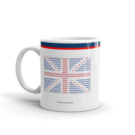Union Flag ASCII - Mug - Unminced Words