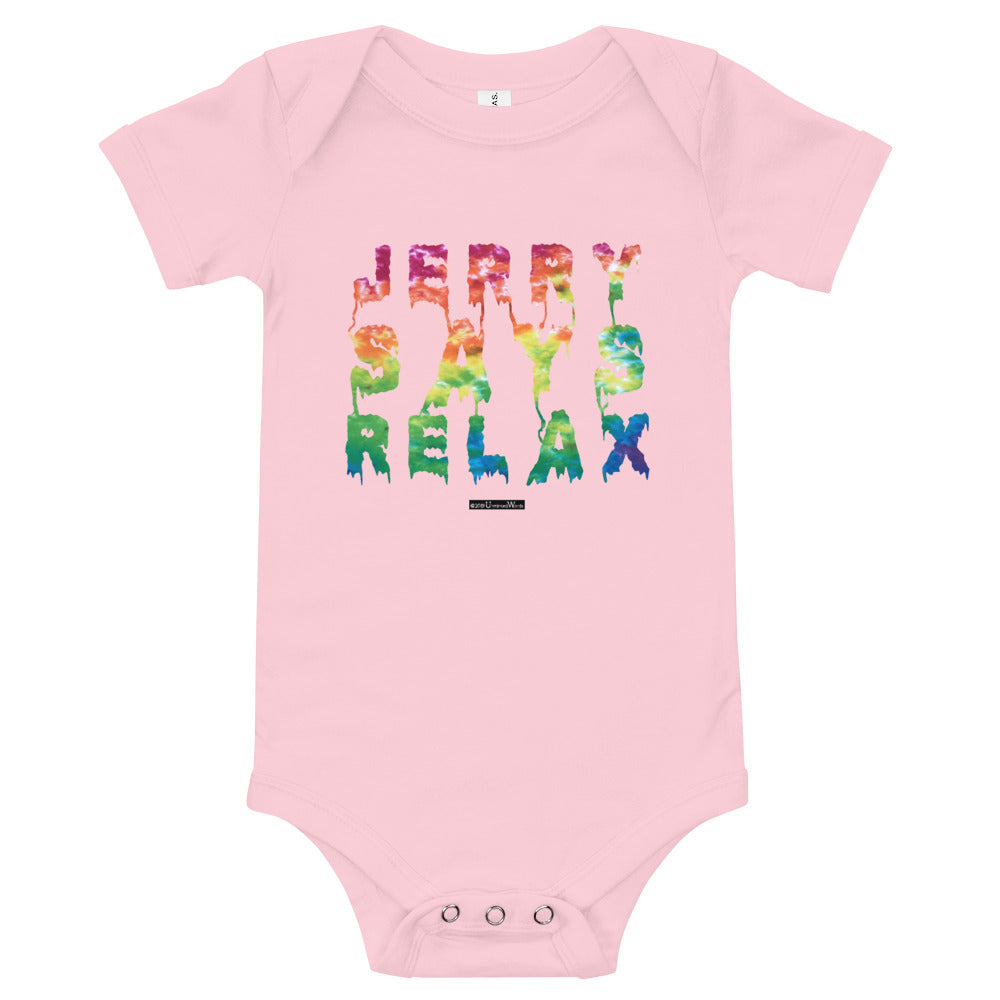 Jerry Says Relax - Onesie - Unminced Words