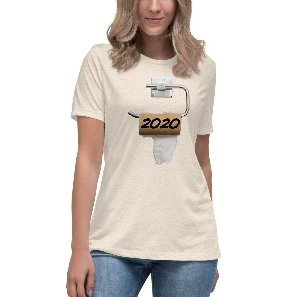 2020 TP - Women's Relaxed T-Shirt - Unminced Words