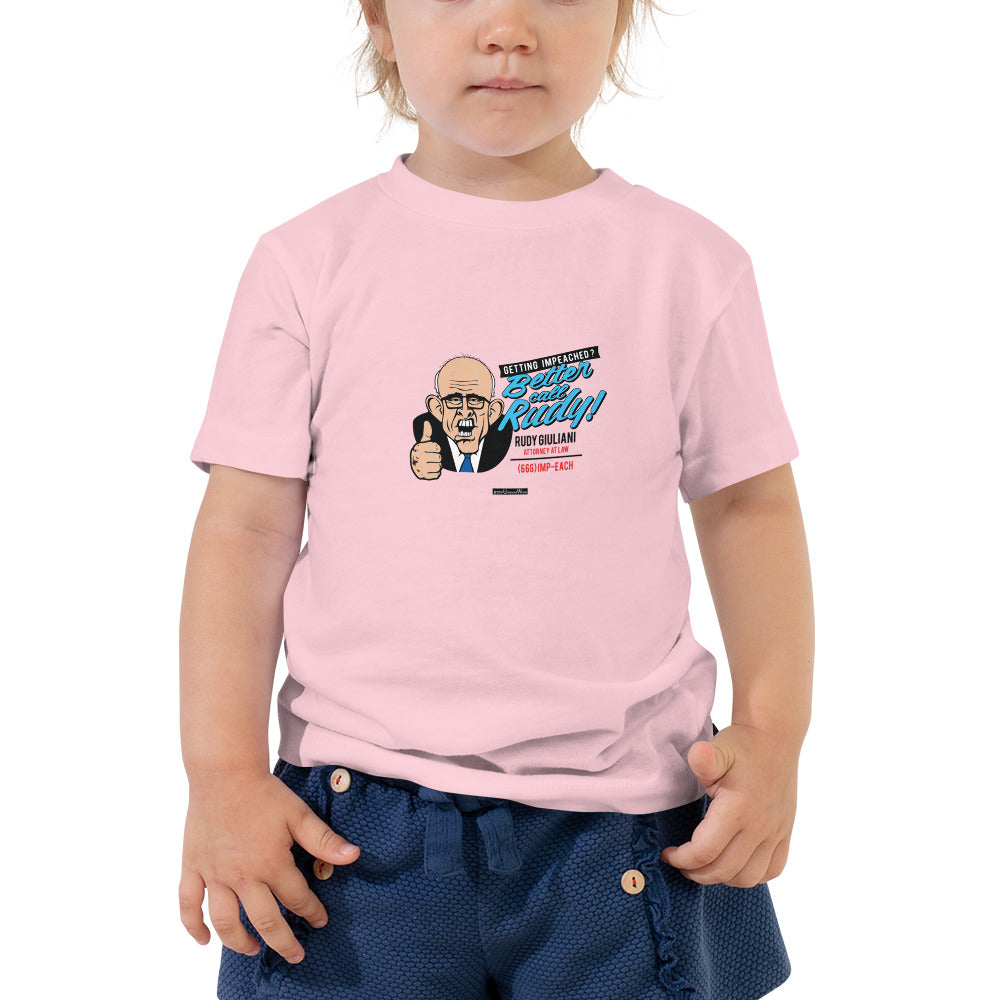 Getting Impeached? Toddler Short Sleeve Tee - Unminced Words