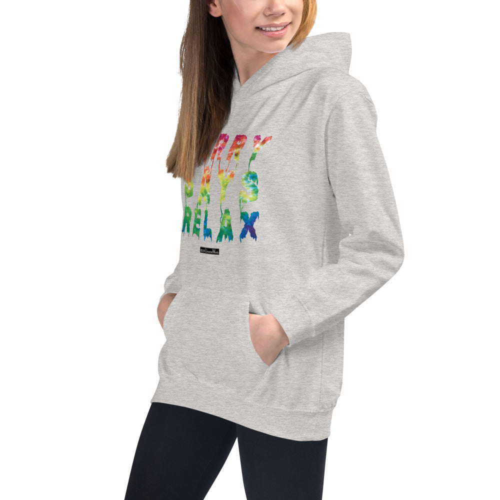 Jerry Says Relax - Kids Hoodie - Unminced Words