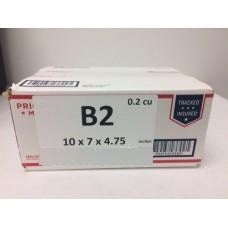 "Priority Mail Cubic Dimension Box (B2) 10"" x 7"" x 4.75"" (Top Loaded) (25 Pcs)"