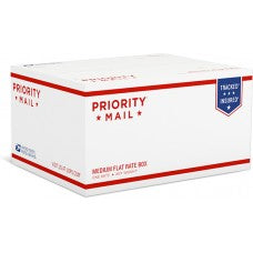 Priority Mail Medium Flat Rate Box - 1 (Top Loaded) (25 Pcs)