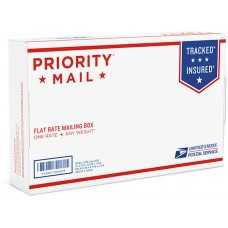 "Priority Mail Small Flat Rate Box 5-3/8"" x 8-5/8"" x 1-5/8""  (25 Pcs)"