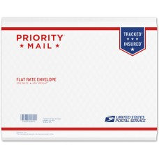 Priority Mail Padded Flat Rate Envelope 9.5
