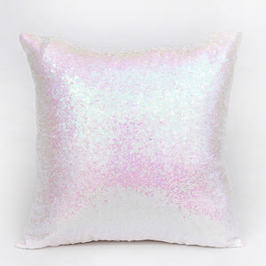 FIFTYSHADESOFDIVA Iridescent Sequins Throw Pillow