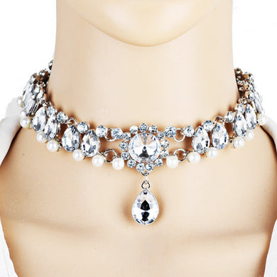 DIVA Jeweled Choker