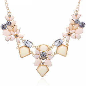 Fashion Crystal Statement Necklace