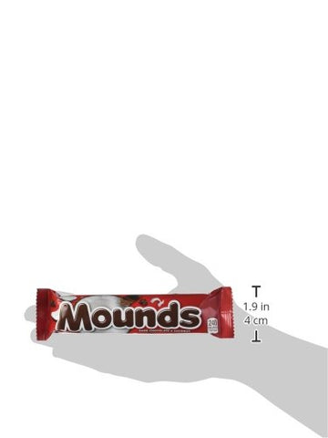 Image of MOUNDS Dark Chocolate and Coconut Candy Bar, 1.75 Ounce (Pack of 36)