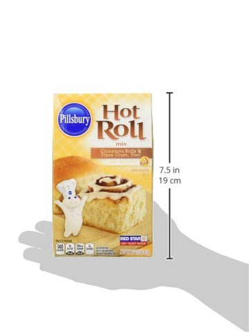 Image of Pillsbury, Specialty Hot Roll Mix, 16oz Box (Pack of 2)