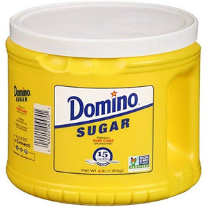 Domino Granulated Sugar, 4 Lb - PACK OF 2