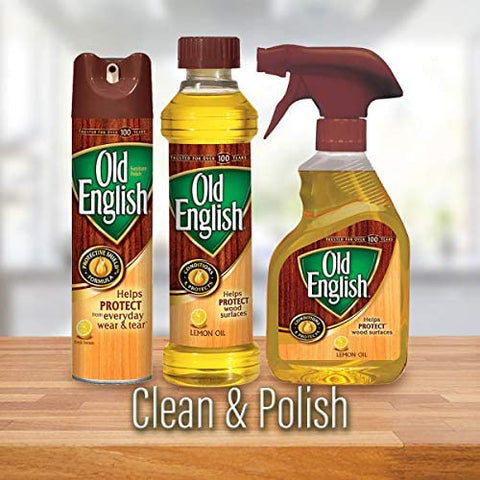 Image of Old English Scratch Cover for Light Woods, 8 Fl Oz.