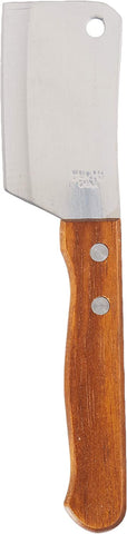Image of Chef Craft Set of 2, Cleaver Style Mini Chopping Knives, Stainless Steel Blade, Wood Handle, Silver