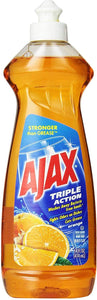 Ajax Triple Action Dish Liquid, Orange, 14 Fluid Ounce
