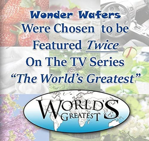 Wonder Wafers 25 CT Individually Wrapped Wild Cherry Air Fresheners