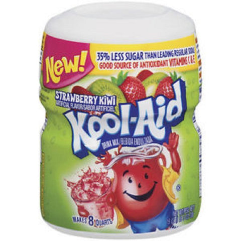Kool-Aid Strawberry Kiwi Soft Drink Mix 19 oz
