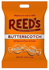 Old-Fashioned Reed's Butterscotch Hard Candy